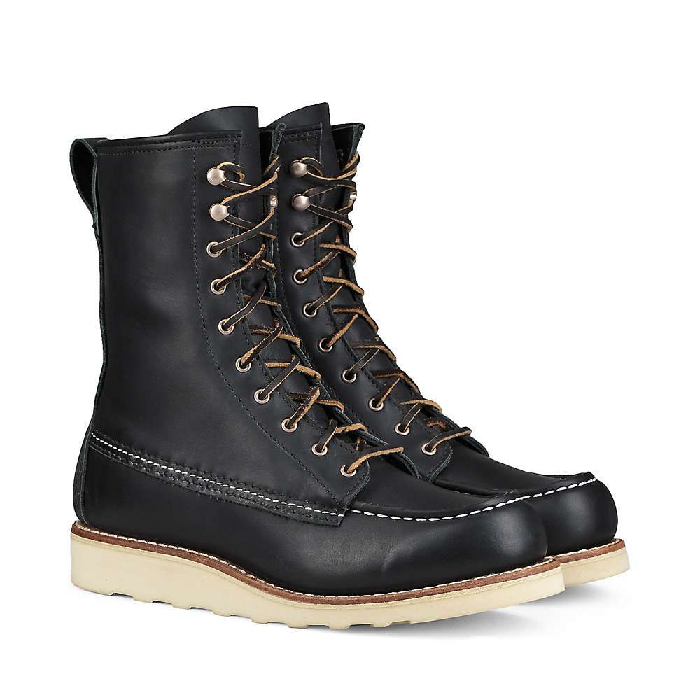 レッドウィング Red Wing Shoes レディース ブーツ シューズ・靴【red wing heritage 3424 8-inch winter moc boot】Black Boundary