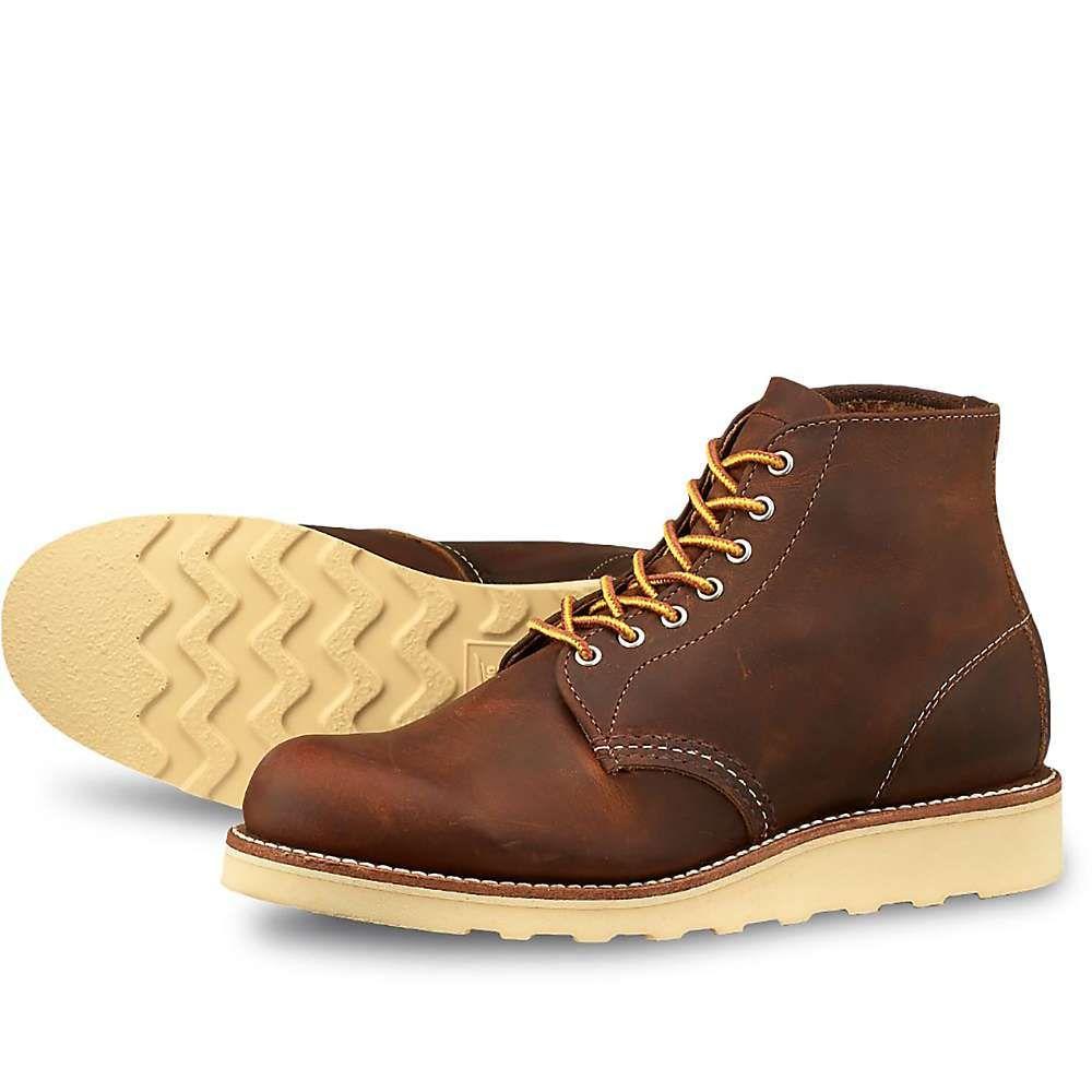 レッドウィング Red Wing Shoes レディース ブーツ シューズ・靴【red wing heritage 3451 6-inch round toe boot】Copper Rough And Tough