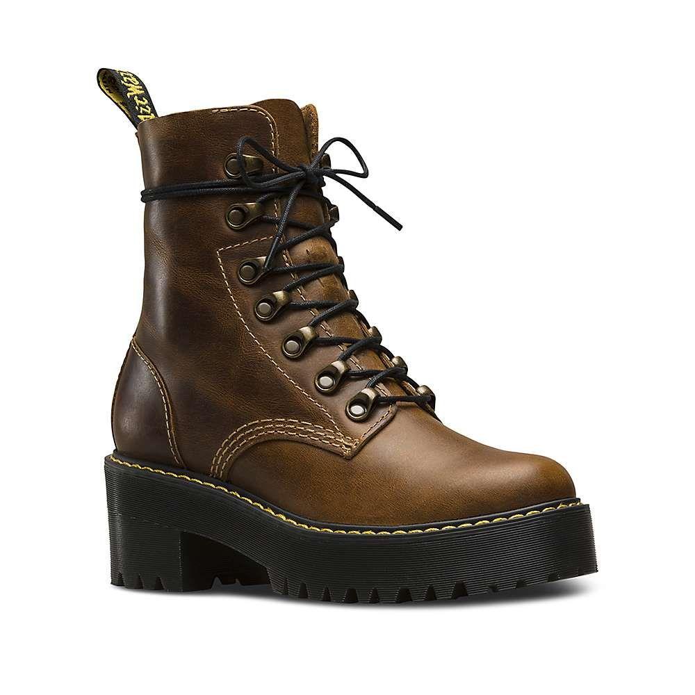 ドクターマーチン Dr Martens レディース ブーツ シューズ・靴【dr. martens leona boot】Butterscotch