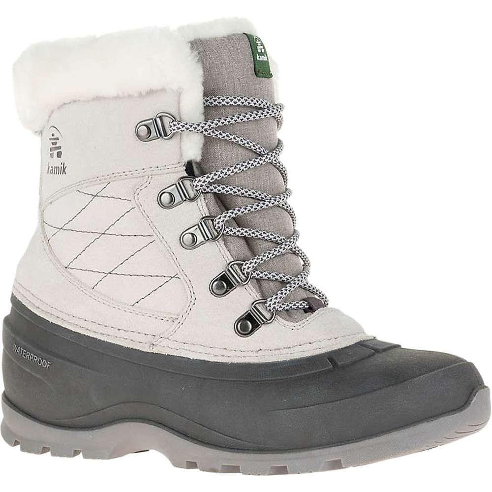 カミック Kamik レディース ブーツ シューズ・靴【snovalleyl boot】Light Grey