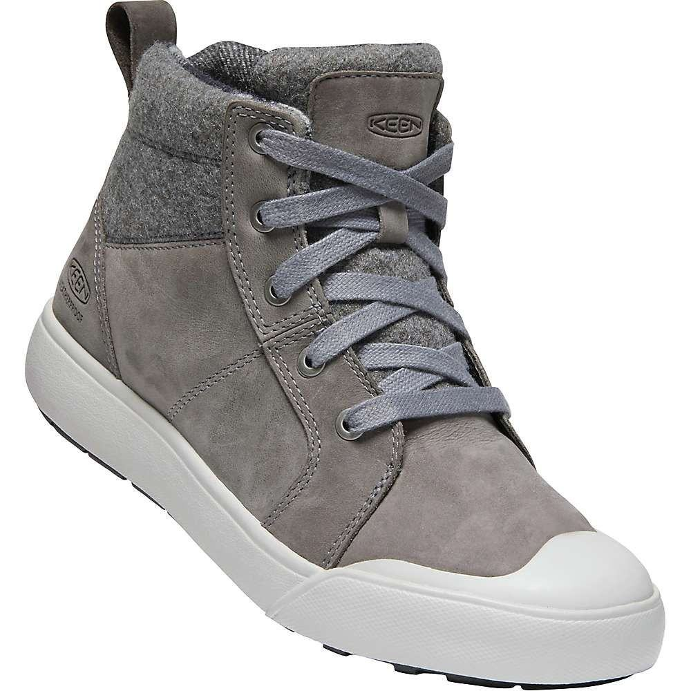 キーン Keen レディース ブーツ シューズ・靴【elena mid boot】Steel Grey/Vapor