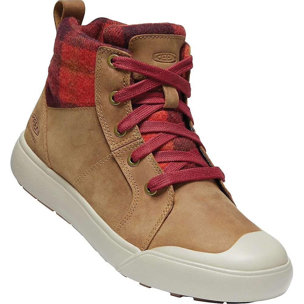 キーン Keen レディース ブーツ シューズ・靴【elena mid boot】Thrush/Plaid