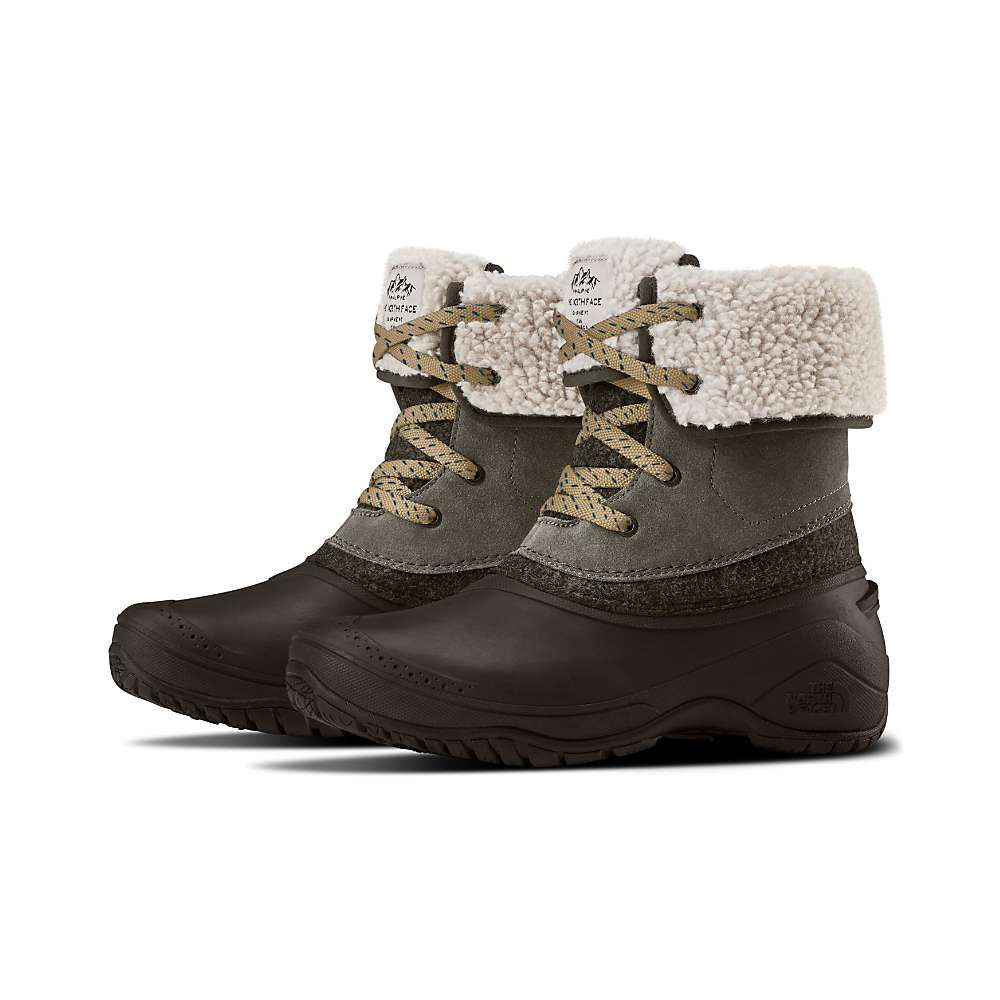 ザ ノースフェイス The North Face レディース ブーツ シューズ・靴【shellista ii roll down boot】Caribou/Demitasse Brown