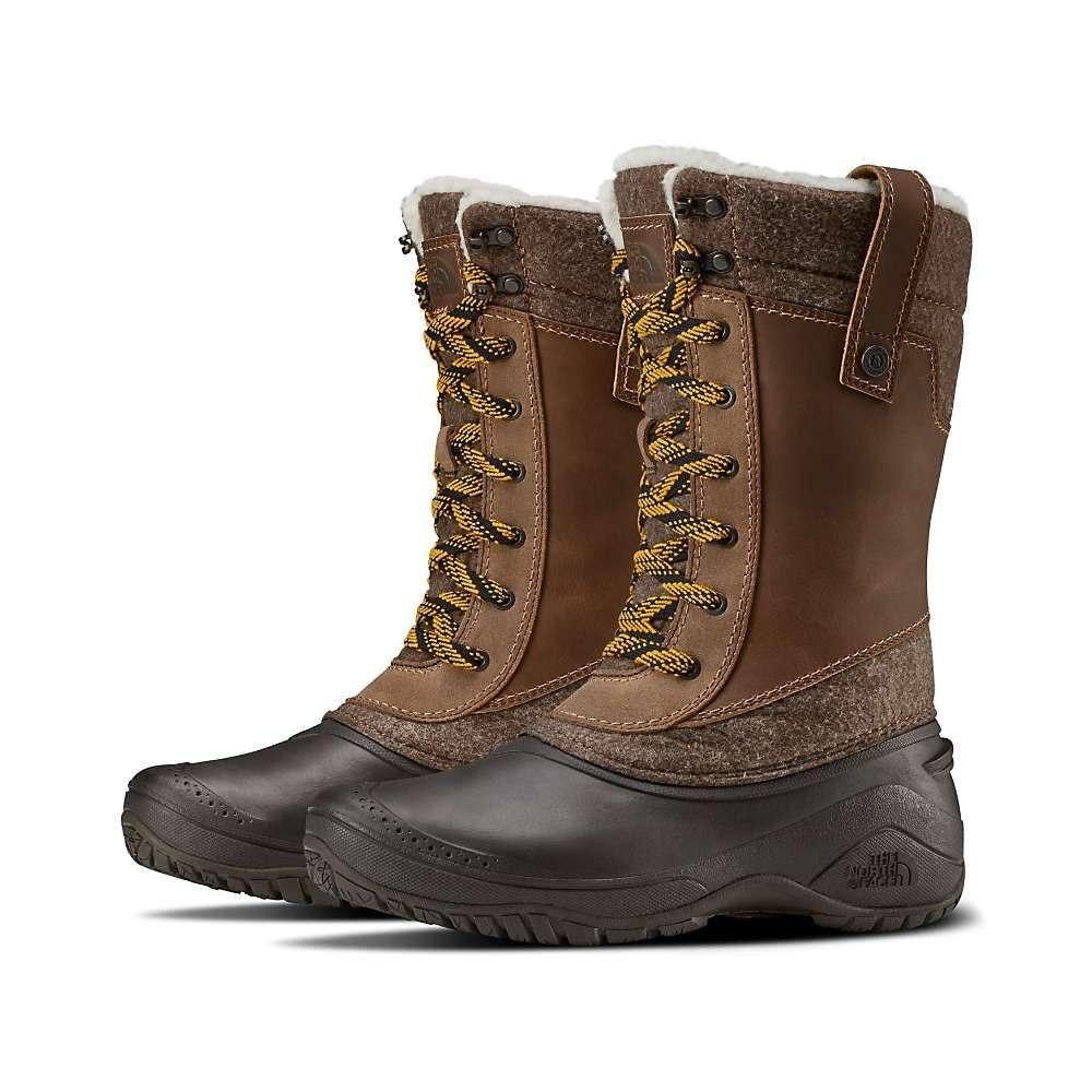 ザ ノースフェイス The North Face レディース ブーツ シューズ・靴【shellista iii mid boot】Demitasse Brown/Carafe Brown