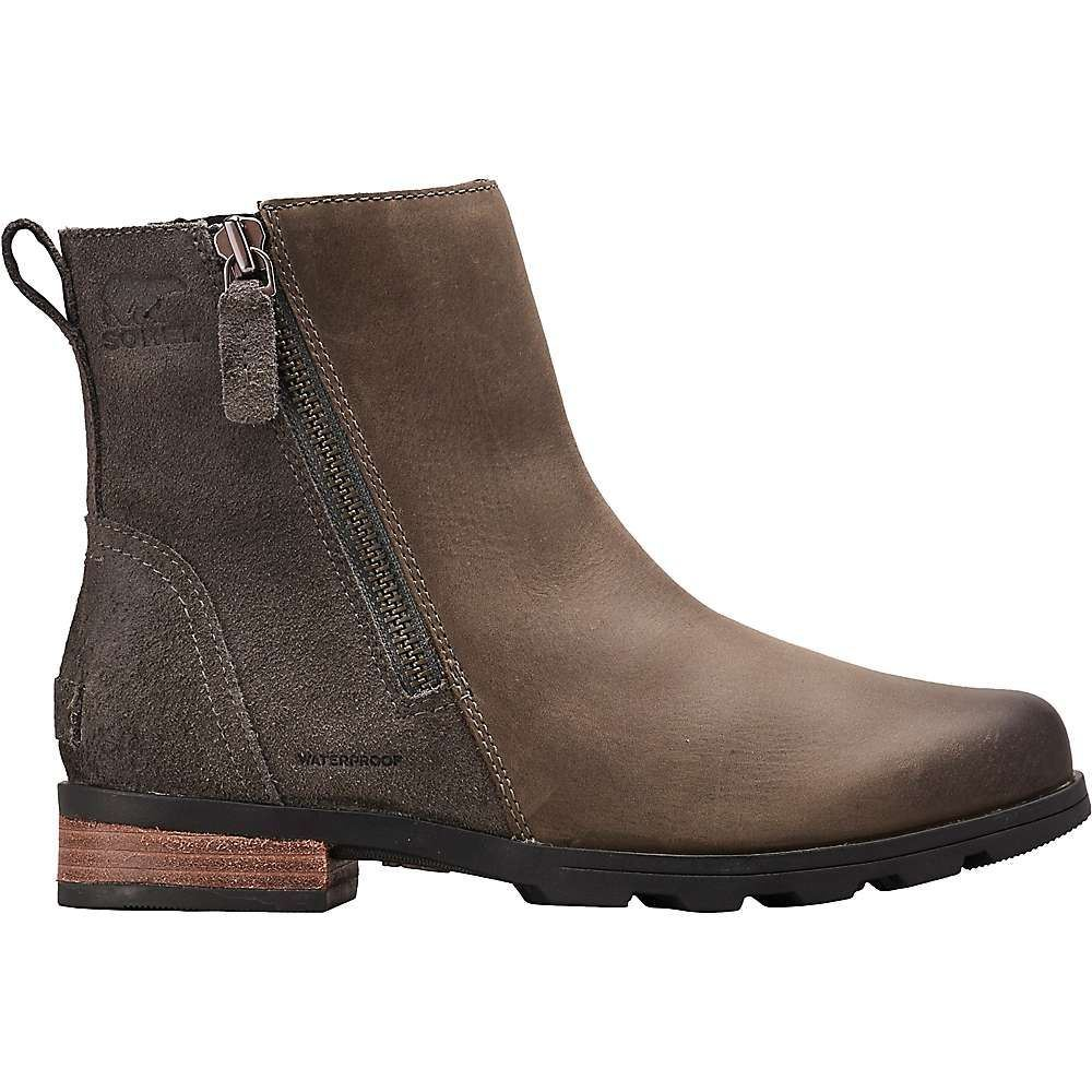 ソレル Sorel レディース ブーツ シューズ・靴【emelie zip bootie】Quarry