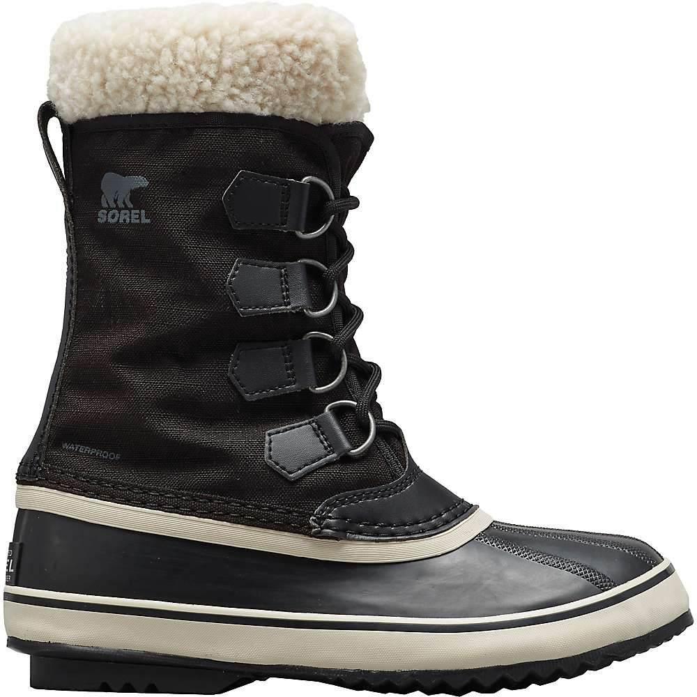 ソレル Sorel レディース ブーツ シューズ・靴【winter carnival boot】Black/Stone