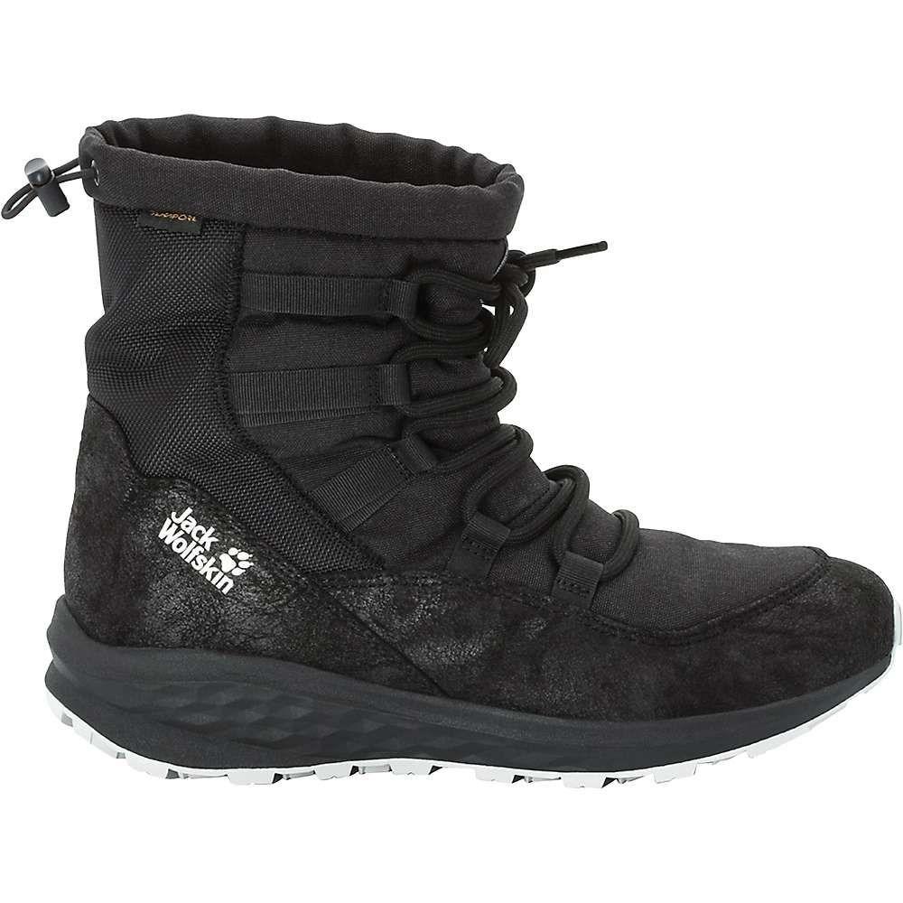 ジャックウルフスキン Jack Wolfskin レディース ブーツ シューズ・靴 nevada texapore mid boot Black BlackWBdoxCeQr