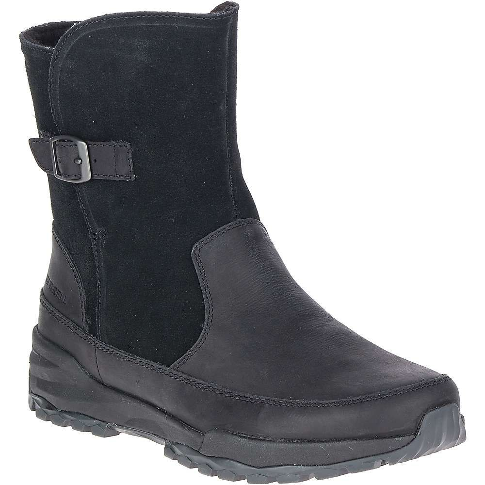 メレル Merrell レディース ブーツ シューズ・靴【icepack guide buckle polar waterproof boot】Black