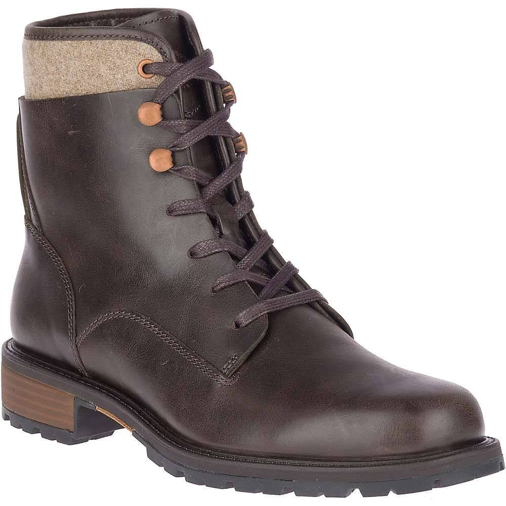 メレル Merrell レディース ブーツ シューズ・靴【legacy lace waterproof boot】Espresso