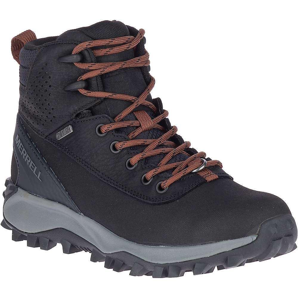 メレル Merrell レディース ブーツ シューズ・靴【thermo kiruna mid shell waterproof boot】Black