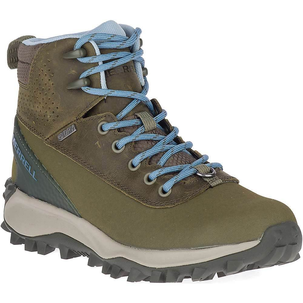 メレル Merrell レディース ブーツ シューズ・靴【thermo kiruna mid shell waterproof boot】Olive