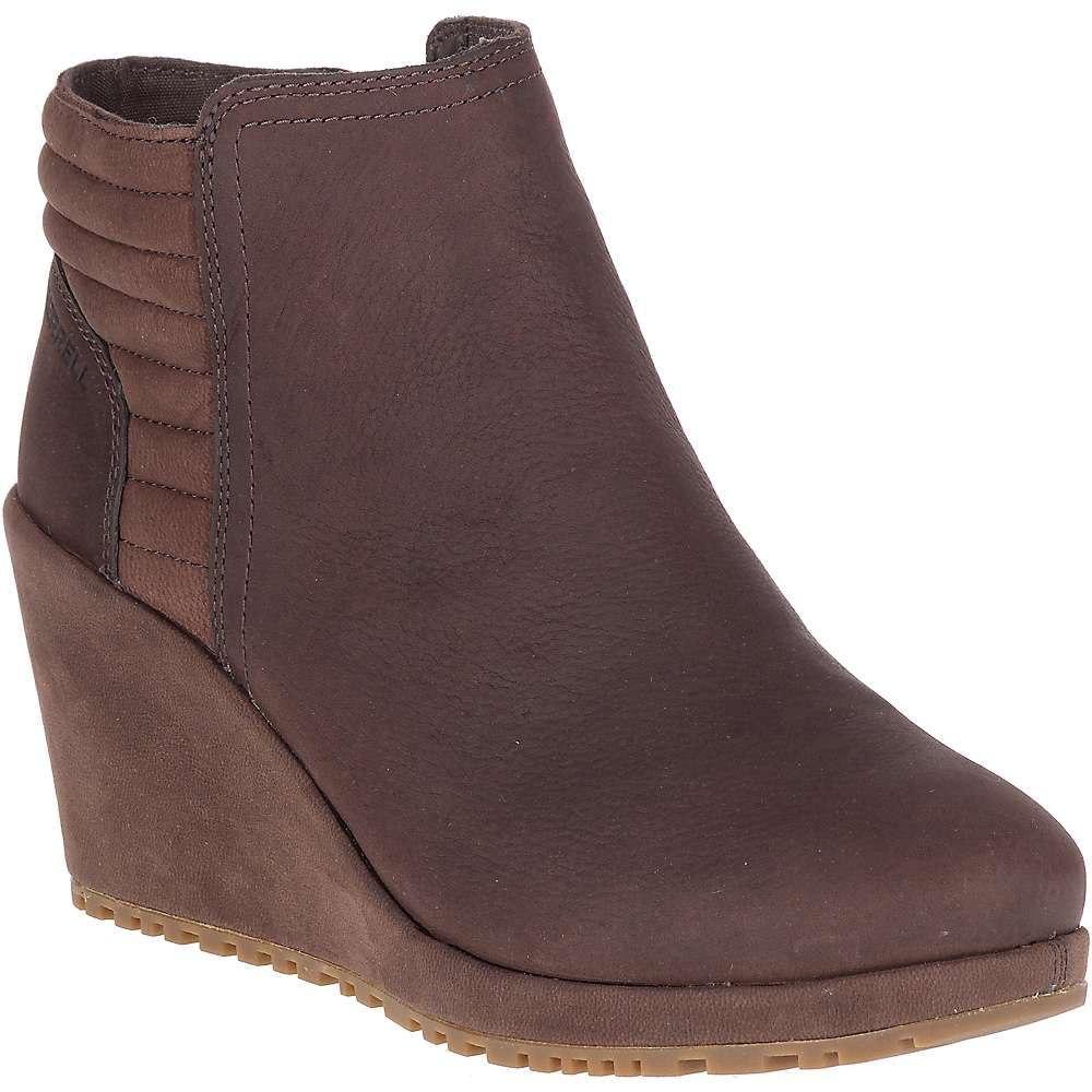 メレル Merrell レディース ブーツ ウェッジソール シューズ・靴【tremblant wedge bluff waterproof boot】Espresso