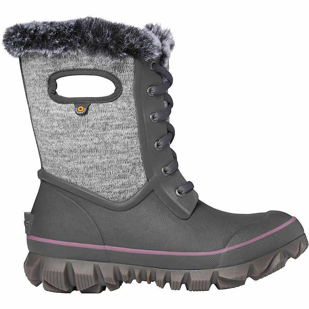 ボグス Bogs レディース ブーツ シューズ・靴【arcata knit boot】Grey Multi