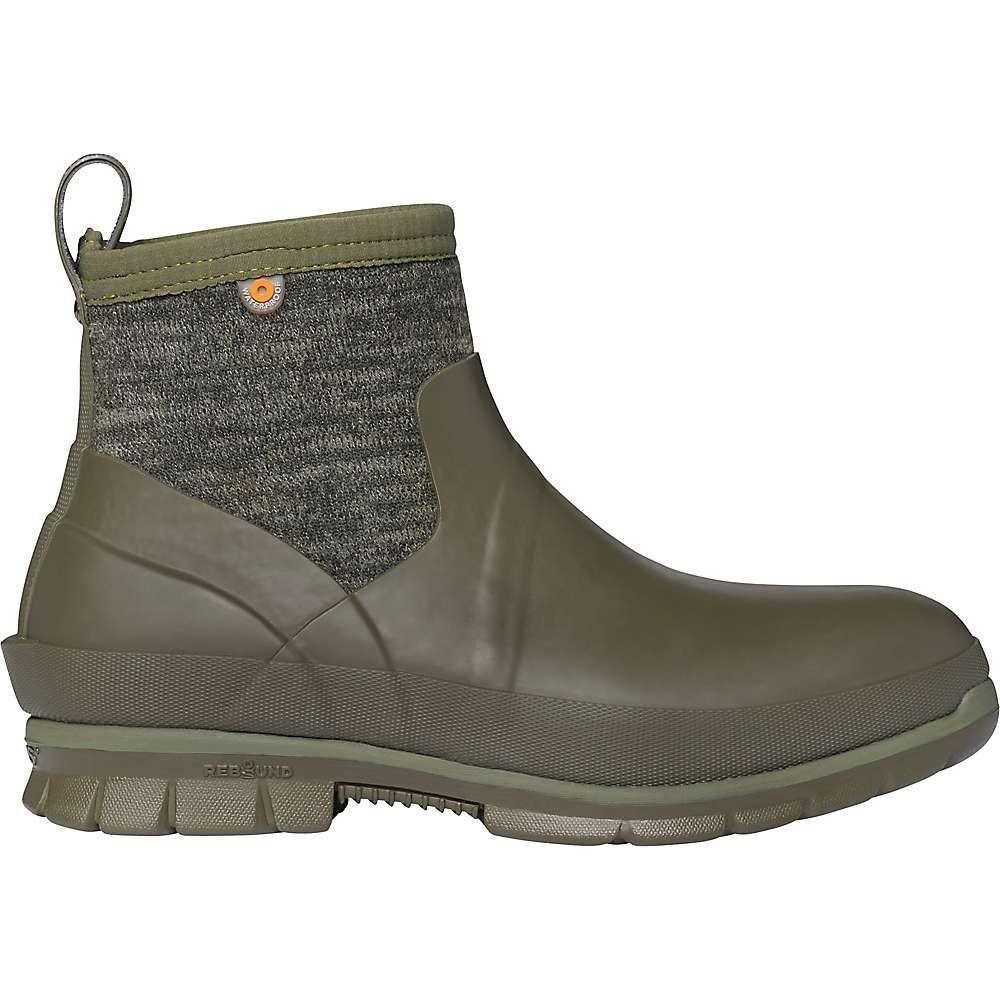 ボグス Bogs レディース ブーツ シューズ・靴【crandall low knit boot】Olive Multi