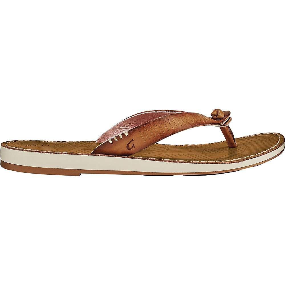 オルカイ OluKai レディース ビーチサンダル シューズ・靴【hawai'iloa kia hope sandal】Fox/Golden Sand