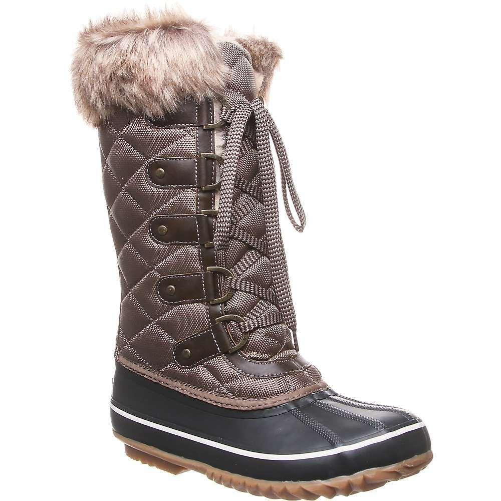 ベアパウ Bearpaw レディース ブーツ シューズ・靴【mckinley boot】Brown