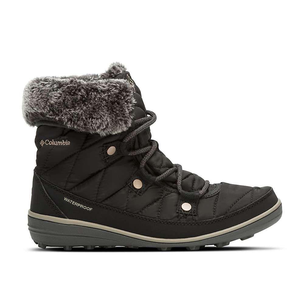 コロンビア Columbia Footwear レディース ブーツ シューズ・靴【columbia heavenly shorty omni-heat boot】Black/Kettle