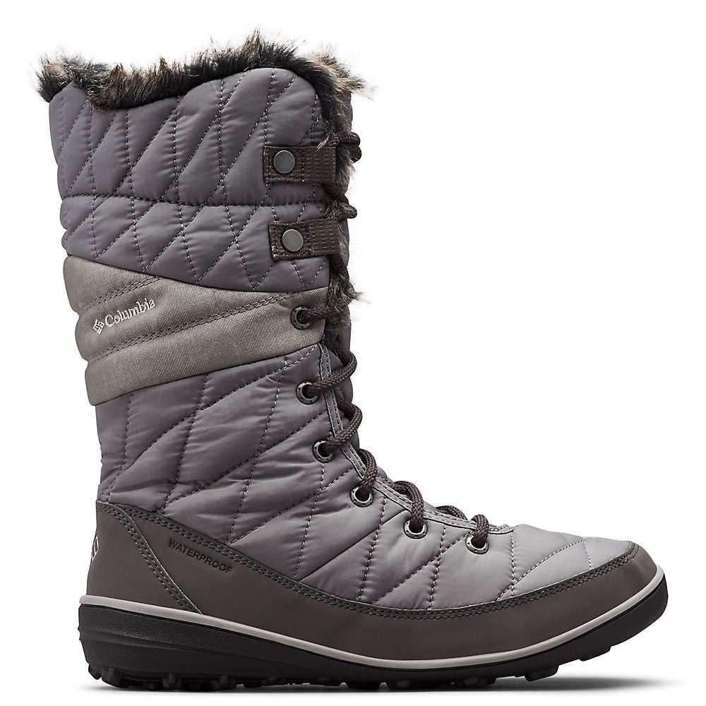 コロンビア Columbia Footwear レディース ブーツ シューズ・靴【columbia heavenly omni-heat boot】Quarry/Dove