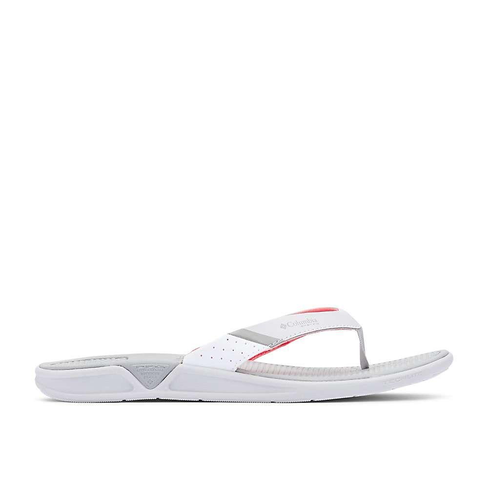 コロンビア Columbia Footwear レディース ビーチサンダル シューズ・靴【columbia rostra pfg sandal】Grey Ice/Red Coral
