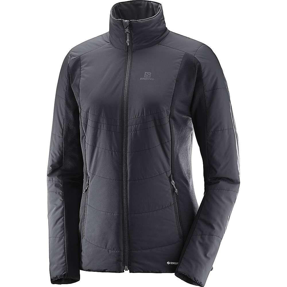 サロモン Salomon レディース スキー・スノーボード ジャケット アウター【drifter mid jacket】Black
