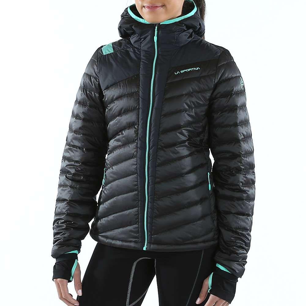 ラスポルティバ La Sportiva レディース スキー・スノーボード ダウン・中綿 ジャケット アウター【frontier down jacket】Black