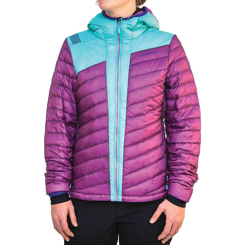 ラスポルティバ La Sportiva レディース スキー・スノーボード ダウン・中綿 ジャケット アウター【frontier down jacket】Purple/Mint