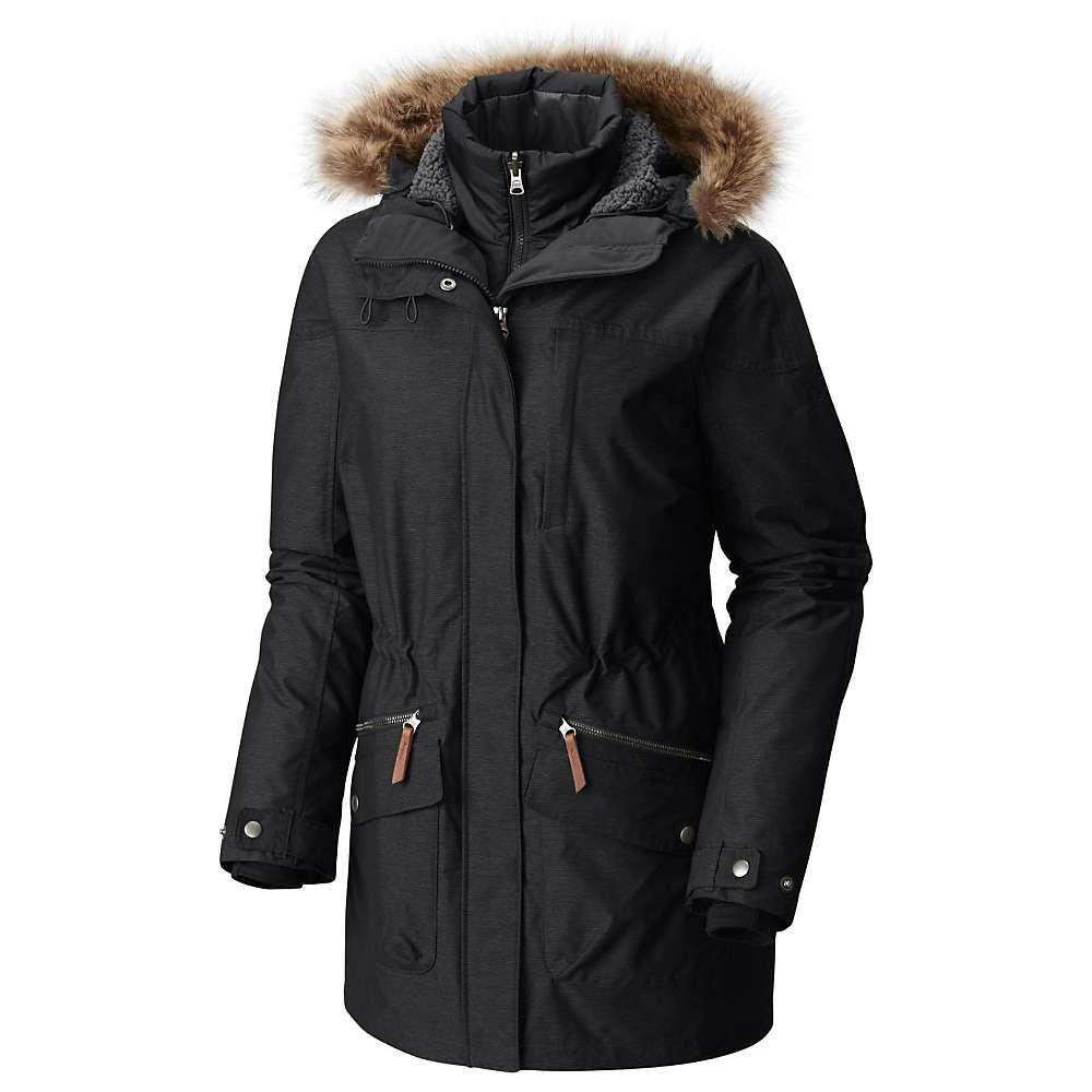 コロンビア レディース スキー・スノーボード アウター Black 【サイズ交換無料】 コロンビア Columbia レディース スキー・スノーボード ジャケット アウター【carson pass ic jacket】Black