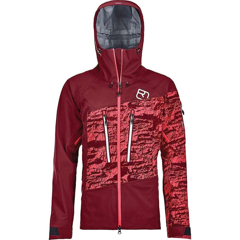 オルトボックス Ortovox レディース スキー・スノーボード シェルジャケット ジャケット アウター【3l guardian shell jacket】Dark Blood