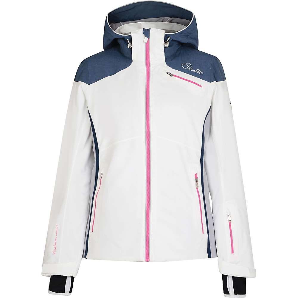 デア トゥビー Dare 2B レディース スキー・スノーボード ジャケット アウター【impromptu jacket】White/Mercury Grey/Silver Flash