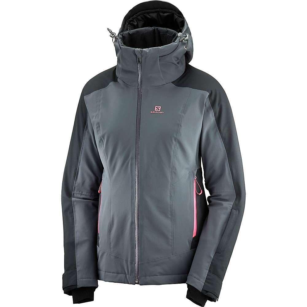 サロモン Salomon レディース スキー・スノーボード ジャケット アウター【brilliant jacket】Ebony/Black