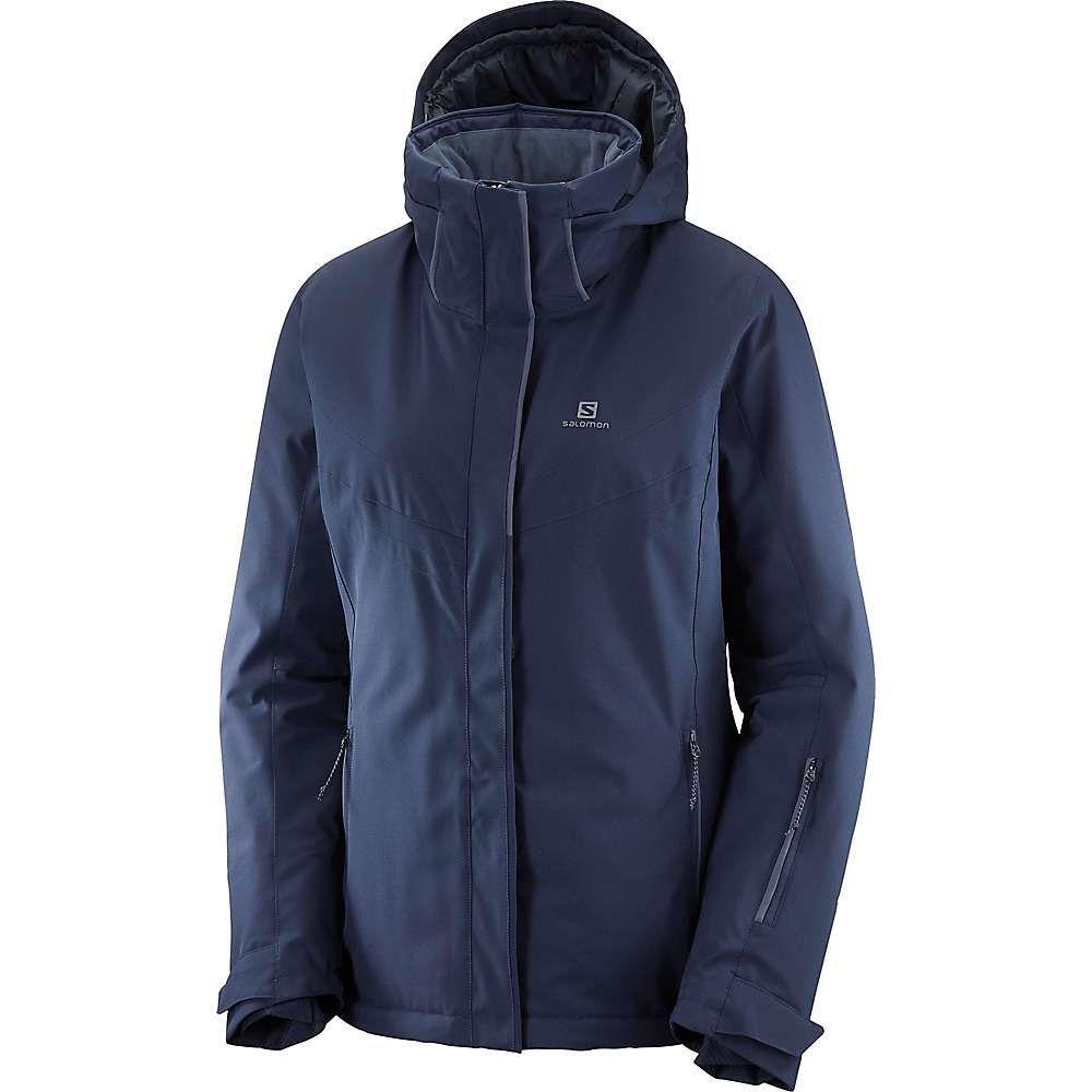 サロモン Salomon レディース スキー・スノーボード ジャケット アウター【stormpunch jacket】Night Sky