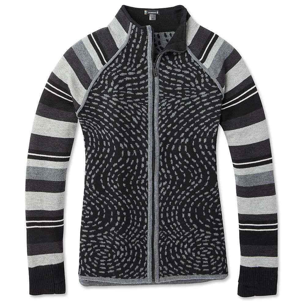 スマートウール Smartwool レディース スキー・スノーボード ニット・セーター トップス【dacono ski full zip sweater】Black