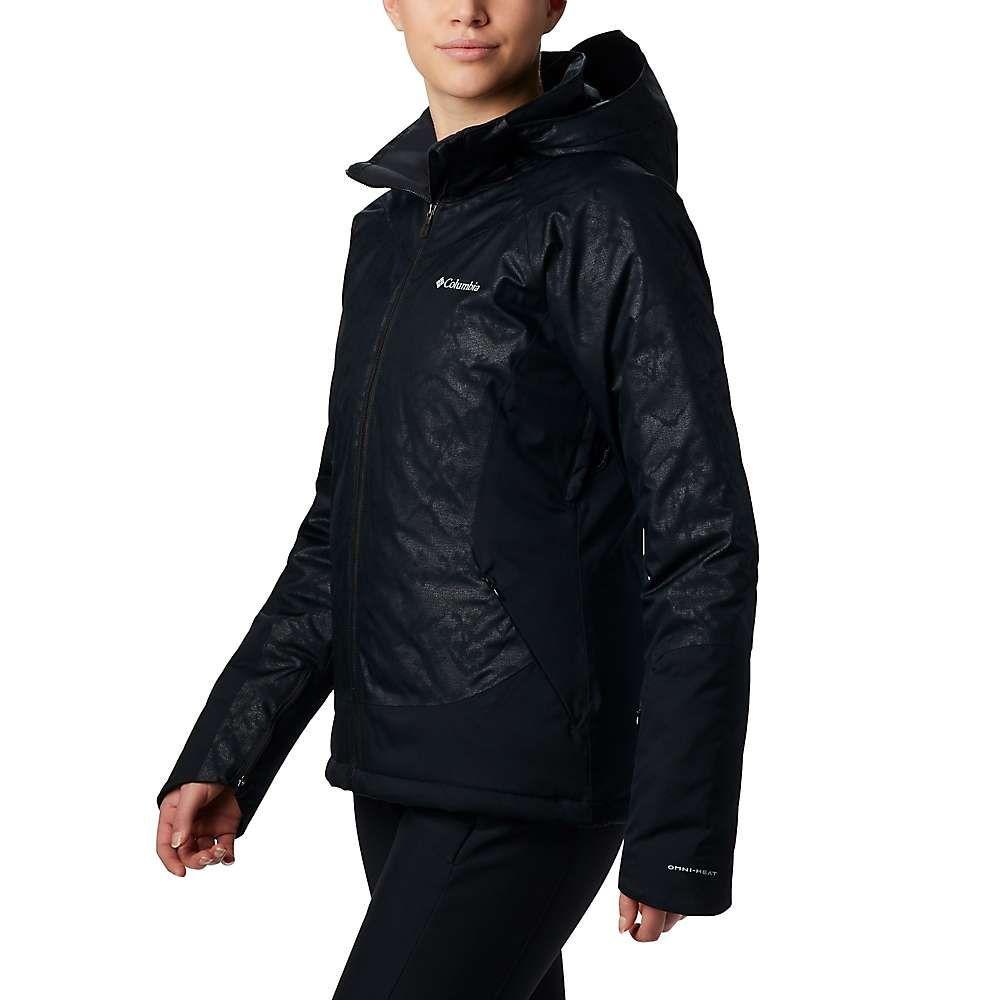 コロンビア レディース スキー・スノーボード アウター Black Slopes Emboss/Black 【サイズ交換無料】 コロンビア Columbia レディース スキー・スノーボード ジャケット アウター【veloca vixen jacket】Black Slopes Emboss/Black