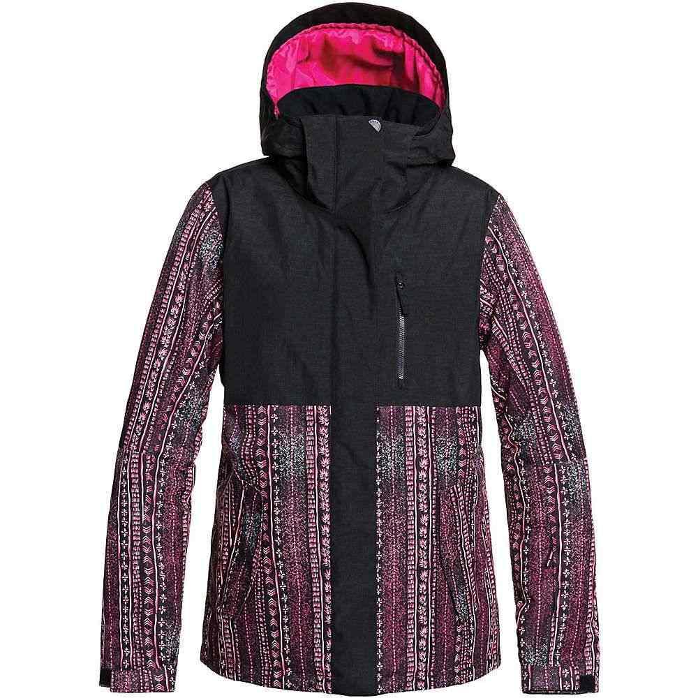 ロキシー Roxy レディース スキー・スノーボード ジャケット アウター【jetty block jacket】True Black/Dont be Shy