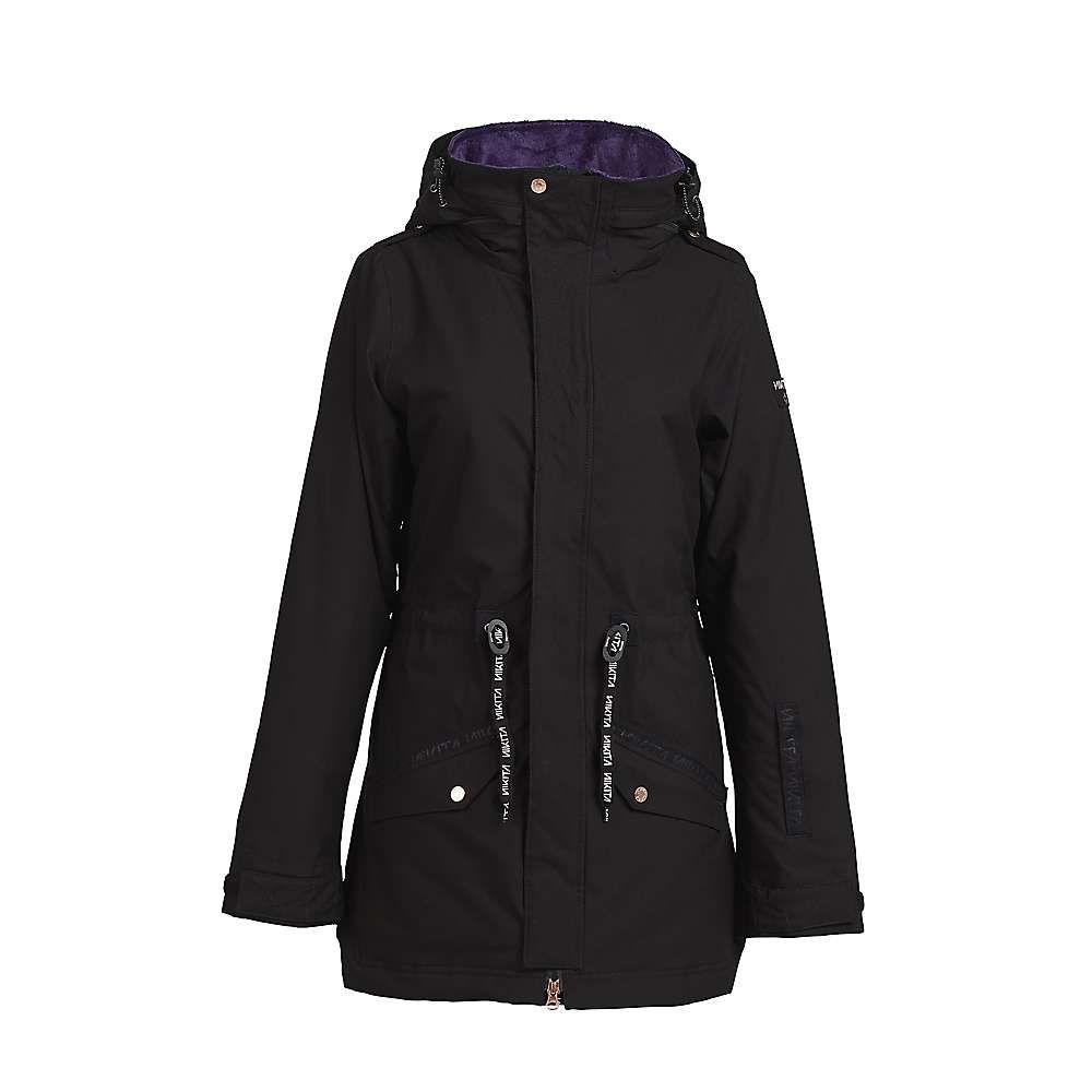 ニキータ Nikita レディース スキー・スノーボード ジャケット アウター【poplar stretch jacket】Black