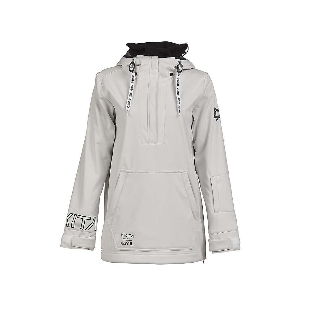 ニキータ Nikita レディース スキー・スノーボード パーカー トップス【radio pull-over hoodie】White