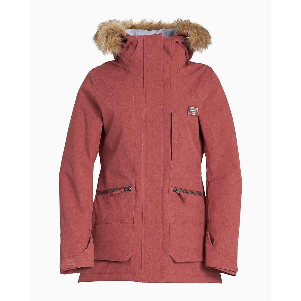 ビラボン Billabong レディース スキー・スノーボード ジャケット アウター【into the forest jacket】Vintage Plum