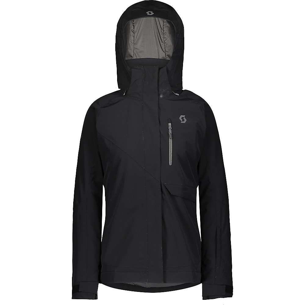 スコット レディース スキー・スノーボード アウター Black 【サイズ交換無料】 スコット Scott USA レディース スキー・スノーボード ジャケット アウター【ultimate dryo 10 jacket】Black