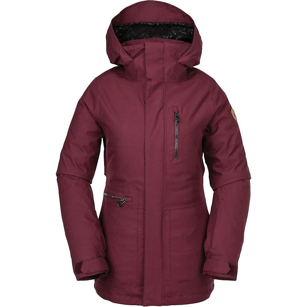 ボルコム Volcom レディース スキー・スノーボード ジャケット アウター【shelter 3d strch jacket】Scarlet