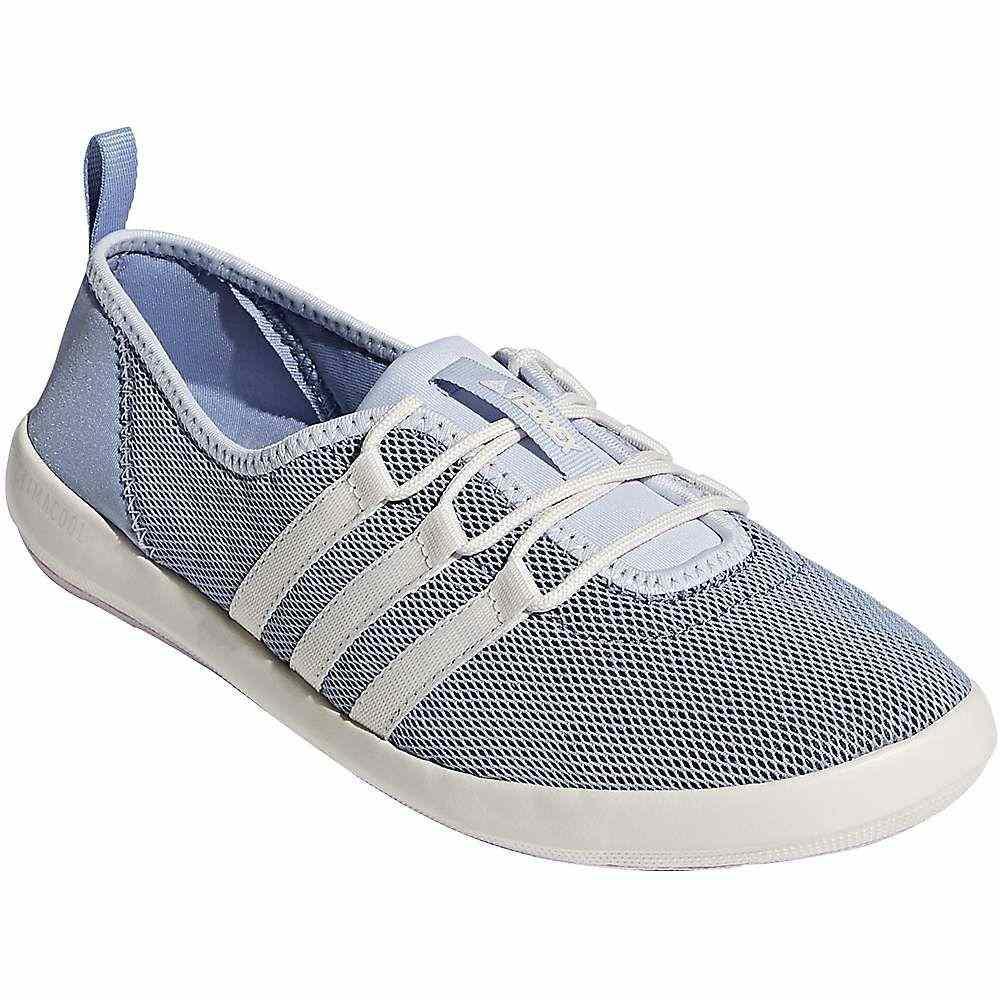アディダス Adidas レディース シューズ・靴 デッキシューズ【terrex cc boat sleek shoe】Chalk Blue/Chalk White/Aero Pink