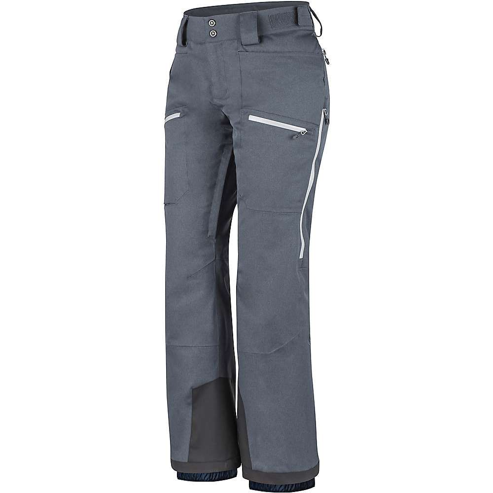 マーモット Marmot レディース スキー・スノーボード ボトムス・パンツ【schussing featherless pant】Steel Onyx