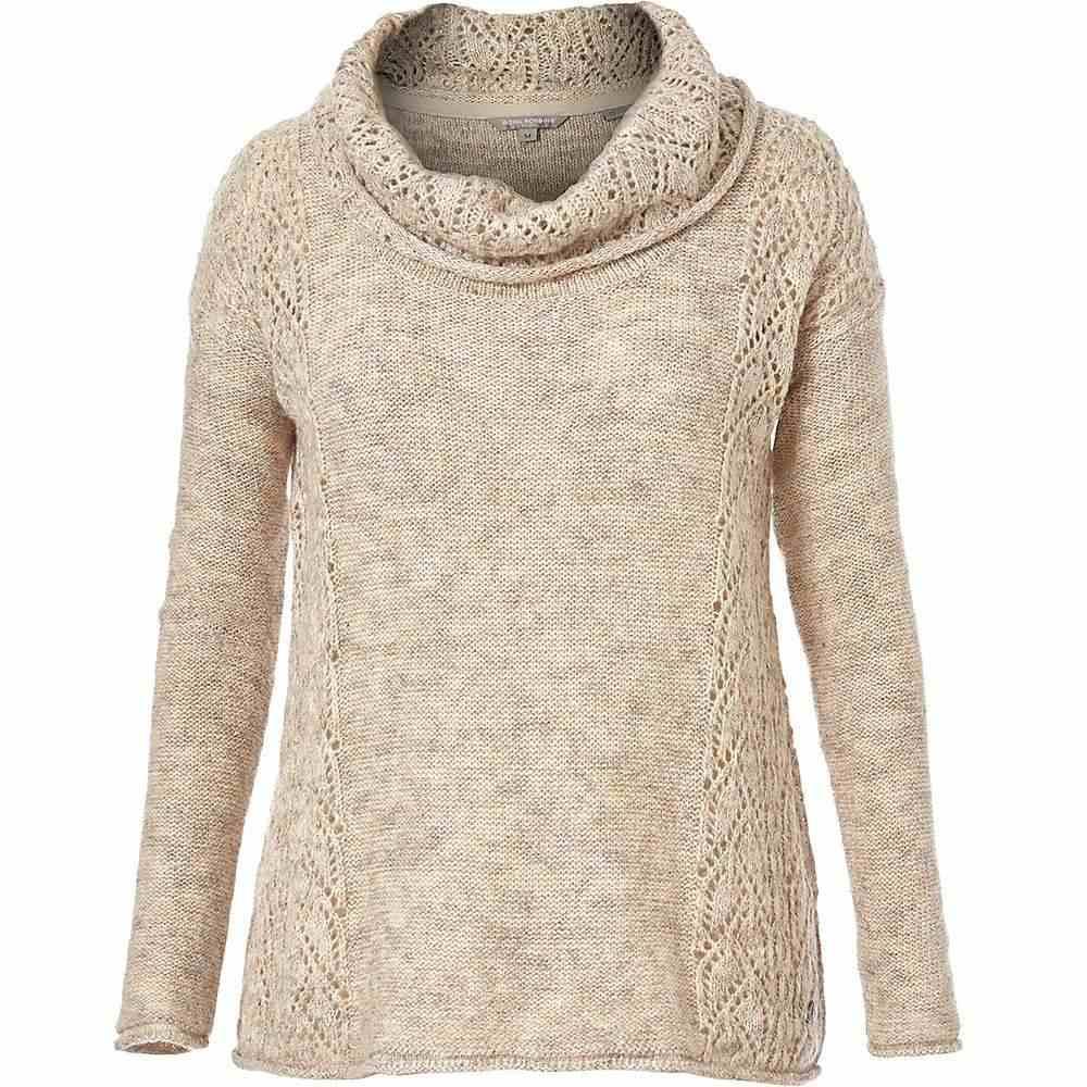 ロイヤルロビンズ Royal Robbins レディース ニット・セーター トップス【sophia cowl sweater】Oatmeal Solid