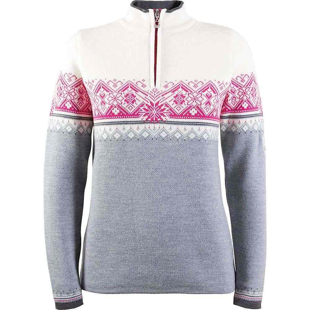 ダーレ オブ ノルウェイ Dale of Norway レディース ニット・セーター トップス【st. moritz feminine sweater】Grey/Schiefer/Allium/Off White