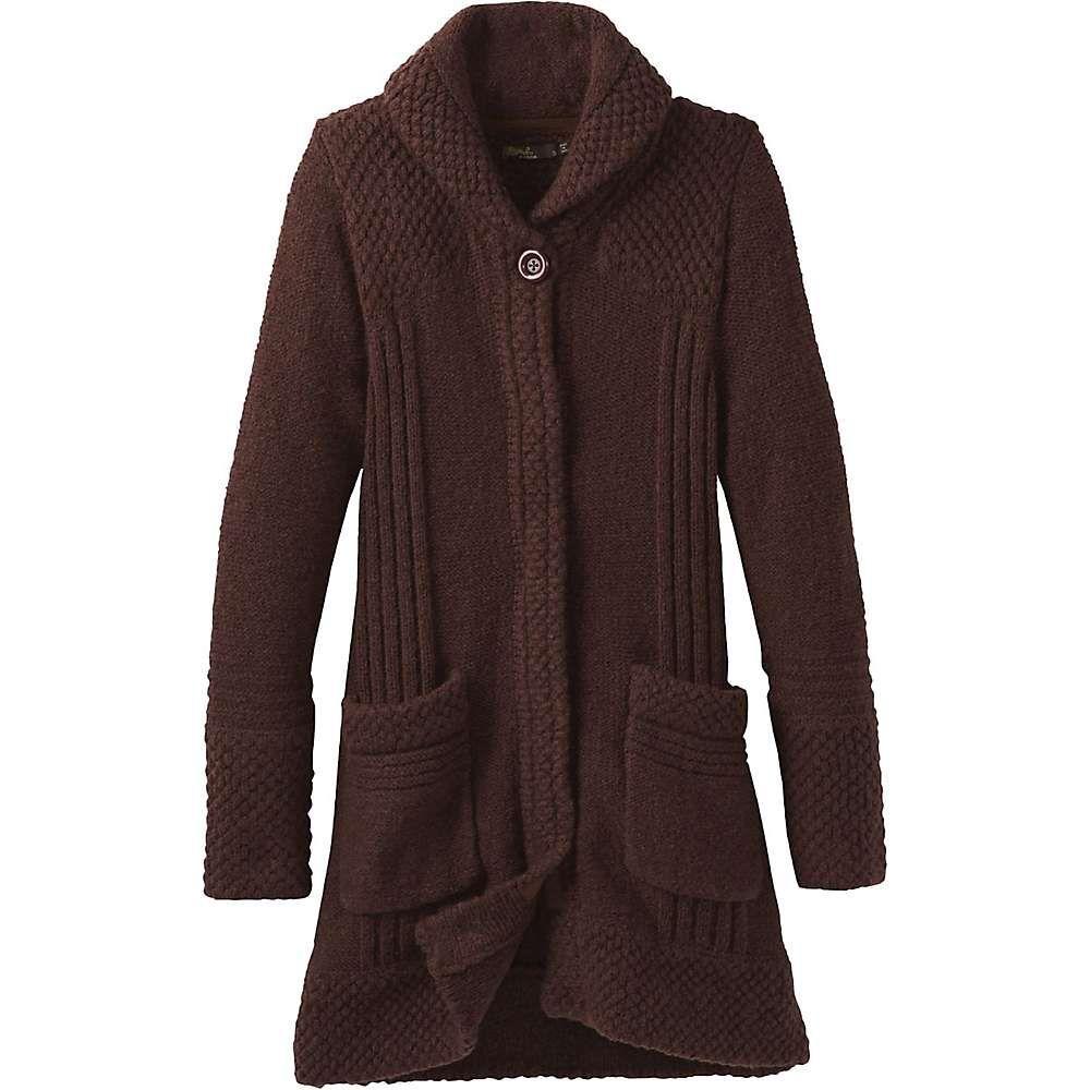 プラーナ Prana レディース コート アウター【elsin sweater coat】Cocoa