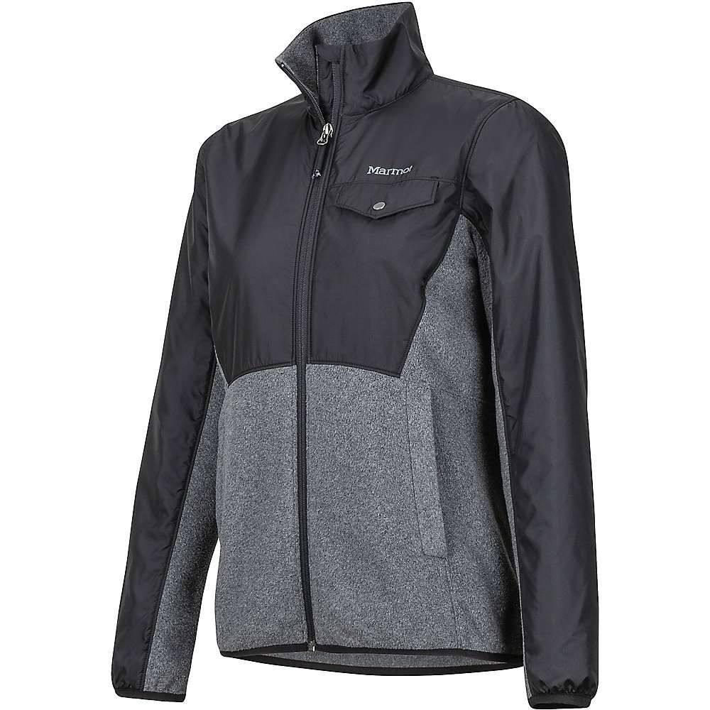 マーモット Marmot レディース ニット・セーター トップス【tech sweater】Black Heather/Black