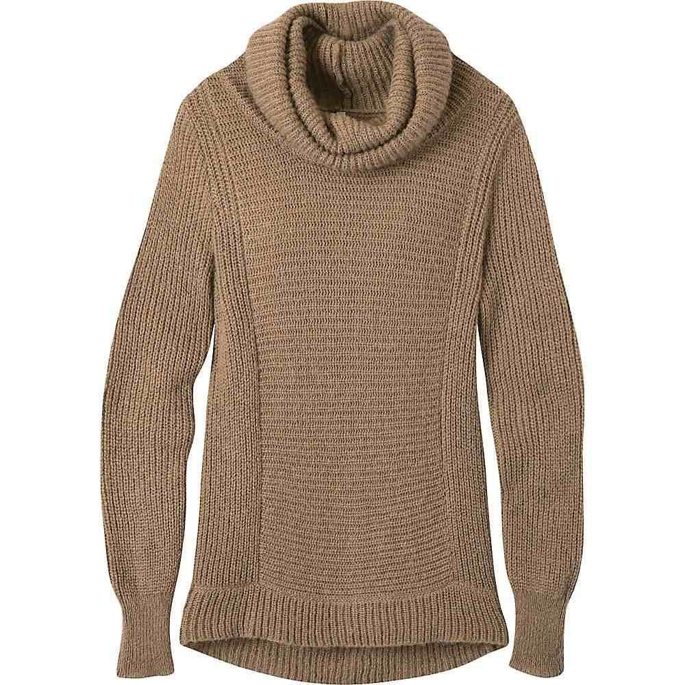 マウンテンカーキス Mountain Khakis レディース ニット・セーター トップス【countryside cowl neck sweater】Tobacco