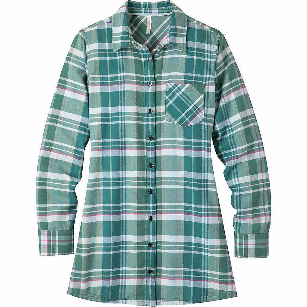 マウンテンカーキス Mountain Khakis レディース チュニック トップス【penny flannel tunic】Viridian