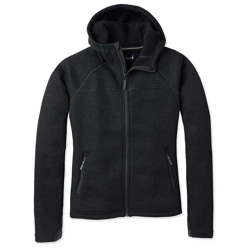 スマートウール Smartwool レディース フリース トップス【hudson trail full zip fleece sweater】Black