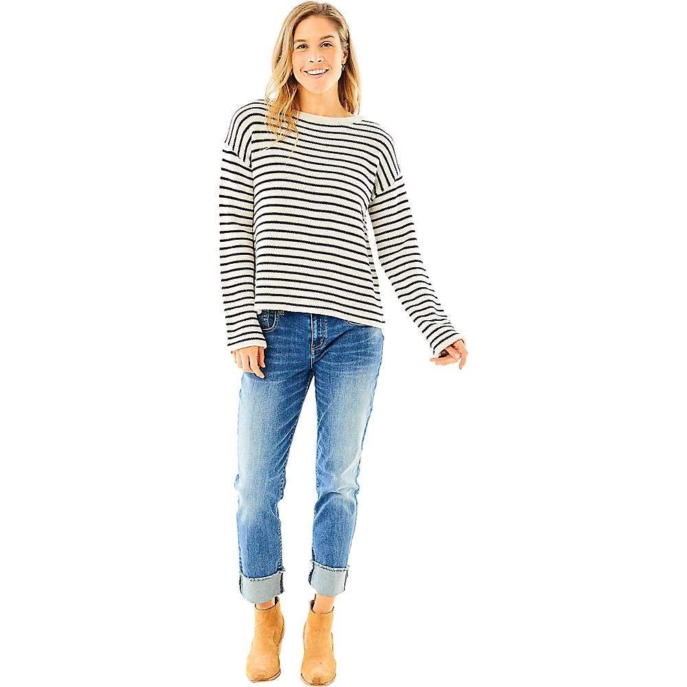 カーヴデザイン Carve Designs レディース ニット・セーター トップス【whitcomb sweater】Birch Mariner