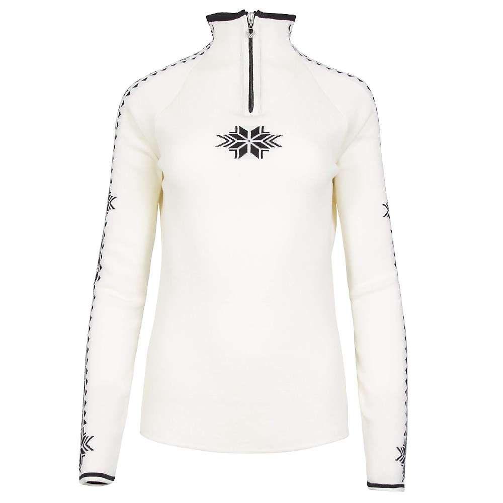ダーレ オブ ノルウェイ Dale of Norway レディース ニット・セーター トップス【geilo feminine sweater】Off White/Black
